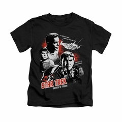 Star Trek - The Original Series Shirt Kids Balance Of Terror Black Youth Tee T-Shirt