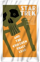 "Star Trek TOS ""And The Children Shall Lead"" Fleece Blanket - 36"" X 58"""