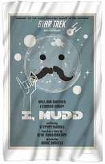 "Star Trek TOS ""I, MUDD"" Fleece Blanket - 36"" X 58"""