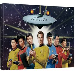 Star Trek TOS Wall Art