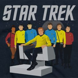 Star Trek Vector Crew Shirts