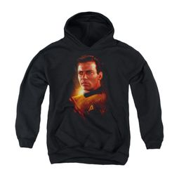 Star Trek Youth Hoodie Epic Kirk Black Kids Hoody