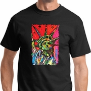 Statue of Liberty Painting Mens Shirts