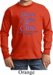 Stomach Cancer Hope Love Cure Kids Long Sleeve