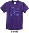 Stomach Cancer Hope Love Cure Kids T-shirt