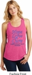 Stomach Cancer Hope Love Cure Ladies Racerback