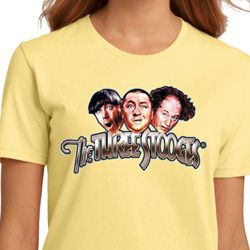 Stooges Faces Ladies Shirts