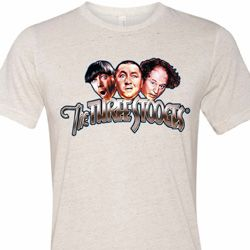 Stooges Faces Mens Shirts