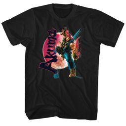 Street Fighter Shirt Akuma Black T-Shirt