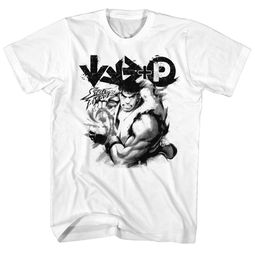 Street Fighter Shirt Hadouken White T-Shirt