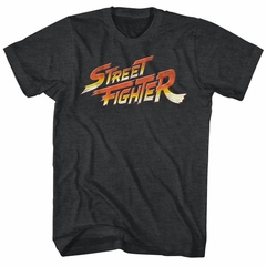 Street Fighter Shirt Logo Black T-Shirt