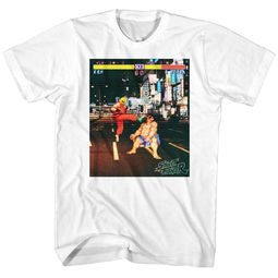 Street Fighter Shirt Real Street Fighter White T-Shirt