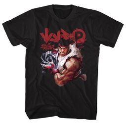 Street Fighter Shirt Ryu Black T-Shirt