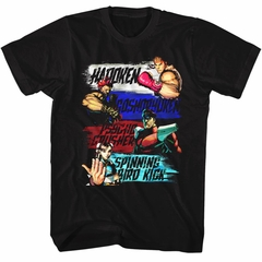 Street Fighter Shirt Show Me Your Moves Black T-Shirt