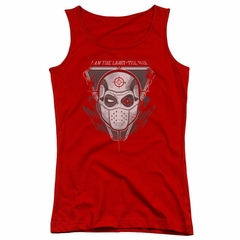 Suicide Squad Juniors Tank Top The Way Red Tanktop