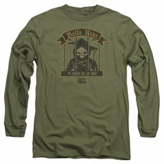 Suicide Squad Long Sleeve Shirt Belle Reve Olive Tee T-Shirt