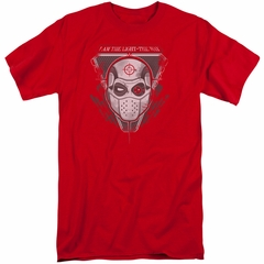 Suicide Squad Shirt The Way Red Tall T-Shirt
