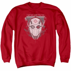 Suicide Squad Sweatshirt The Way Adult Red Sweat Shirt