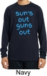 Suns Out Guns Out Kids Dry Wicking Long Sleeve Shirt