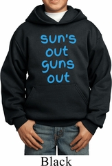 Suns Out Guns Out Kids Hoodie