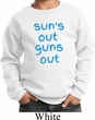 Suns Out Guns Out Kids Sweatshirt