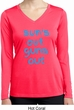 Suns Out Guns Out Ladies Dry Wicking Long Sleeve Shirt