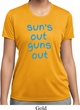 Suns Out Guns Out Ladies Moisture Wicking Shirt