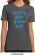 Suns Out Guns Out Ladies Organic Shirt