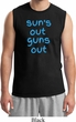 Suns Out Guns Out Mens Muscle Shirt