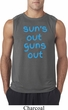 Suns Out Guns Out Mens Sleeveless Shirt
