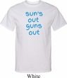 Suns Out Guns Out Mens Tall Shirt