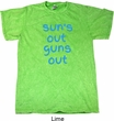 Suns Out Guns Out Mineral Tie Dye Shirt