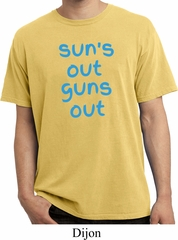 Suns Out Guns Out Pigment Dyed Shirt