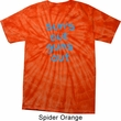 Suns Out Guns Out Spider Tie Dye Shirt
