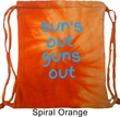 Suns Out Guns Out Tie Dye Bag