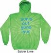 Suns Out Guns Out Tie Dye Hoodie