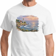 Sunset at Lighthouse Point Shirts