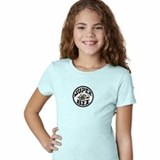 Super Bee Circle Logo Middle Print Kids Dodge Shirts