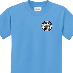 Super Bee Circle Logo Pocket Print Kids Dodge Shirts