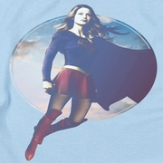 Supergirl Cloudy Circle Shirts