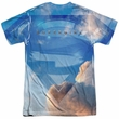 Supergirl Shirt Up In The Sky Sublimation Shirt Front/Back Print