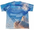 Supergirl Shirt Up In The Sky Sublimation Youth Shirt Front/Back Print