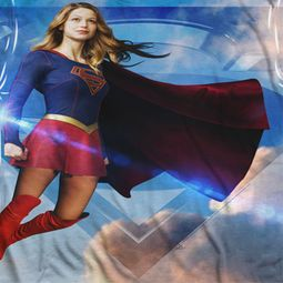 Supergirl Up In The Sky Sublimation Shirts