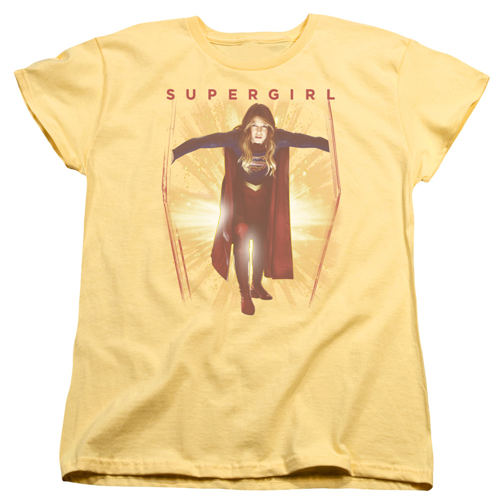6c17dcf4 Supergirl Womens Shirt Through The Door Banana T-Shirt - Supergirl Through  The Door Shirts