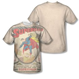 Superman #1 Distressed Sublimation Shirt Front/Back Print