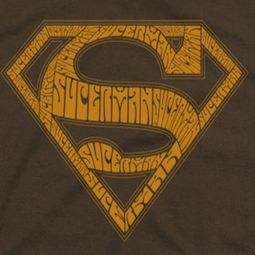 Superman 60's Shield Shirts