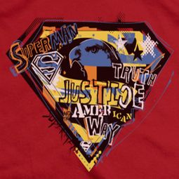 Superman American Way Shirts
