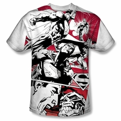Superman Angry Red Sublimation Shirt