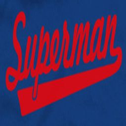 Superman Baseball Logo Shirts