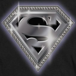Superman Bling Shield Shirts
